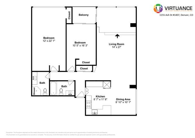 1155 Ash St 1407 Denver CO-small-029-029-Floorplan-666x472-72dpi