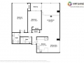 1155 Ash St 1407 Denver CO-small-029-029-Floorplan-666x472-72dpi