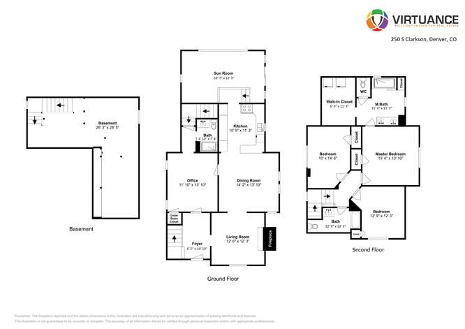 250 S Clarkson Denver CO 80209-small-029-029-Floorplan-666x472-72dpi