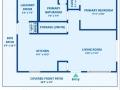 2769 W Iliff Ave 6 Denver CO-small-029-030-Floor Plan-553x500-72dpi