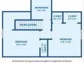 2769 W Iliff Ave 6 Denver CO-small-030-029-Floor Plan-580x500-72dpi