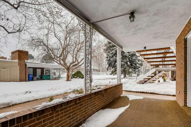 3952 E Evans Avenue Denver CO-small-025-022-Patio-666x444-72dpi