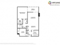 800 Pearl St 709 Denver CO-small-001-001-Floorplan-666x472-72dpi