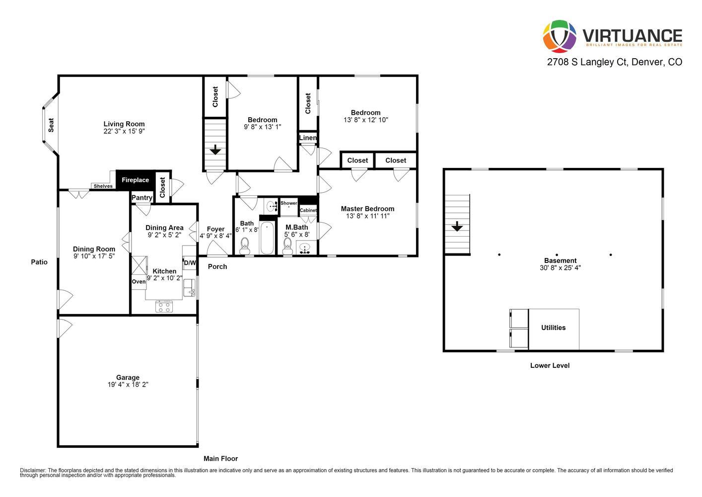 2708 S Langley Ct Denver CO-large-002-1-Floor Plan